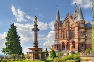 Freie Trauung Bonn Schlossgarten an der Drachenburg